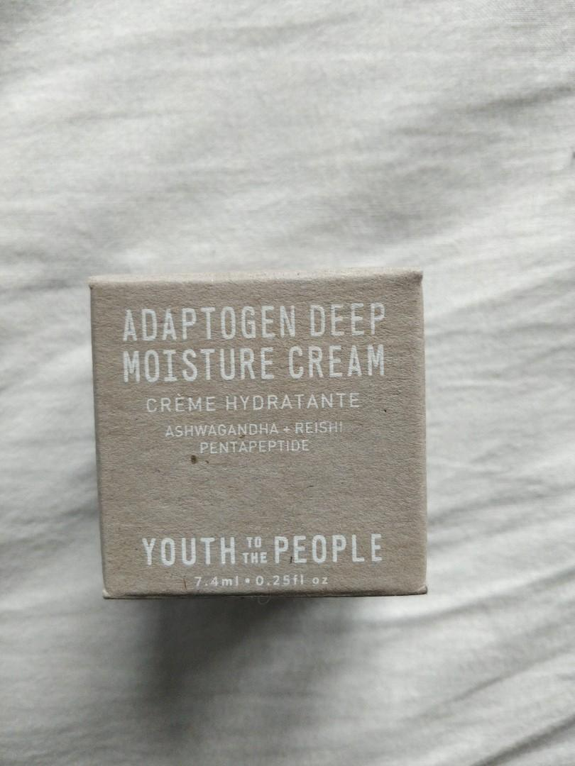 Brand New Youth to the People Adaptogen Deep Moisture Cream