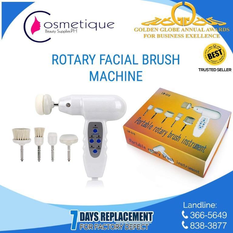 Facial Rotary Brush Exfoliator Facial Slimming Machine Health
