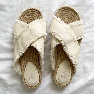 H&M Canvas Sandals