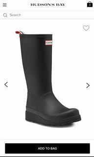 Hunter Original Rubber Rain Boot