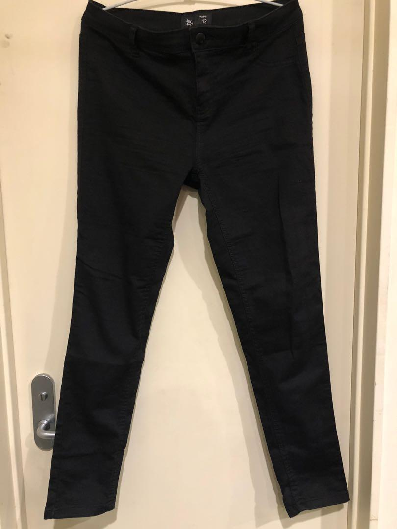 Jayjays black pants size 12