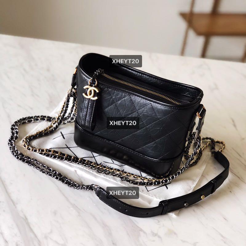 顶级 One Unit ONLY 😊 Brand New 99.9% Same to Original (Boutique Quality) Chanel Gabrielle Small Hobo Bag Classic