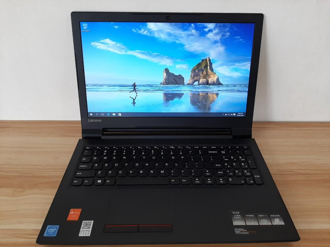 Lenovo V110 Dual Core 15 6 Inch Celeron N3350 7th Gen 4gb Ram 320gb Hdd Slim Type Electronics Computers Laptops On Carousell