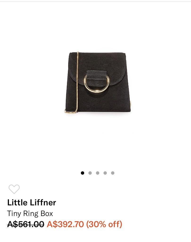 Little Liffner  Authentic Tiny Ring Box