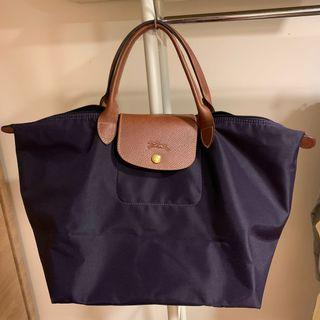 Longchamp 折疊包 短柄 size M