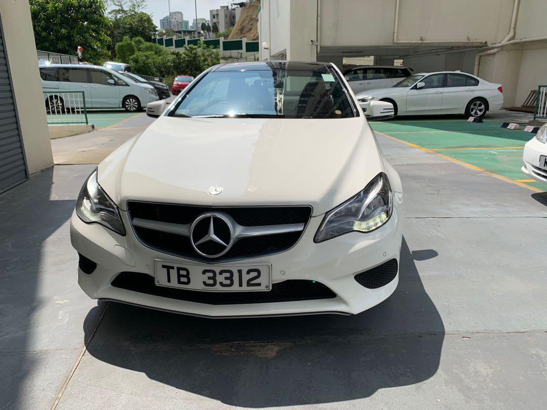 Mercedes-Benz E200 Coupe Auto