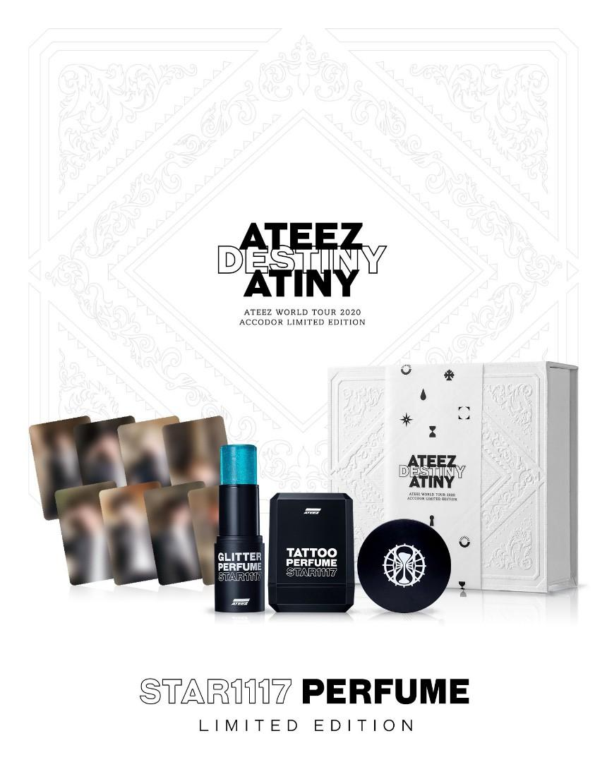 MMT ATEEZ STAR1117 PERFUME LIMITED EDITION (OFFICIAL)