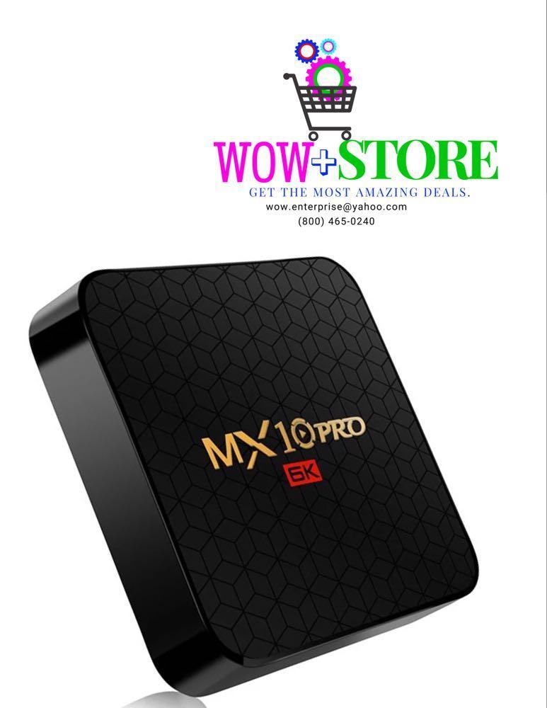 MX10 pro 6k Android Tv box