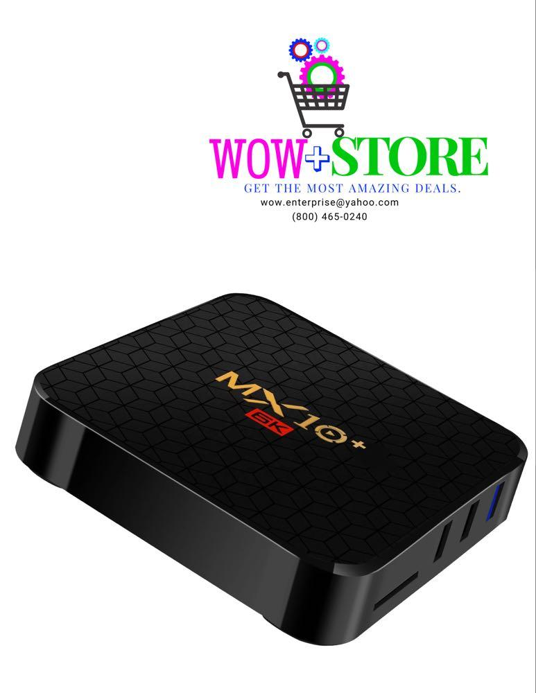 MX 10+ 6k Android Tv Box