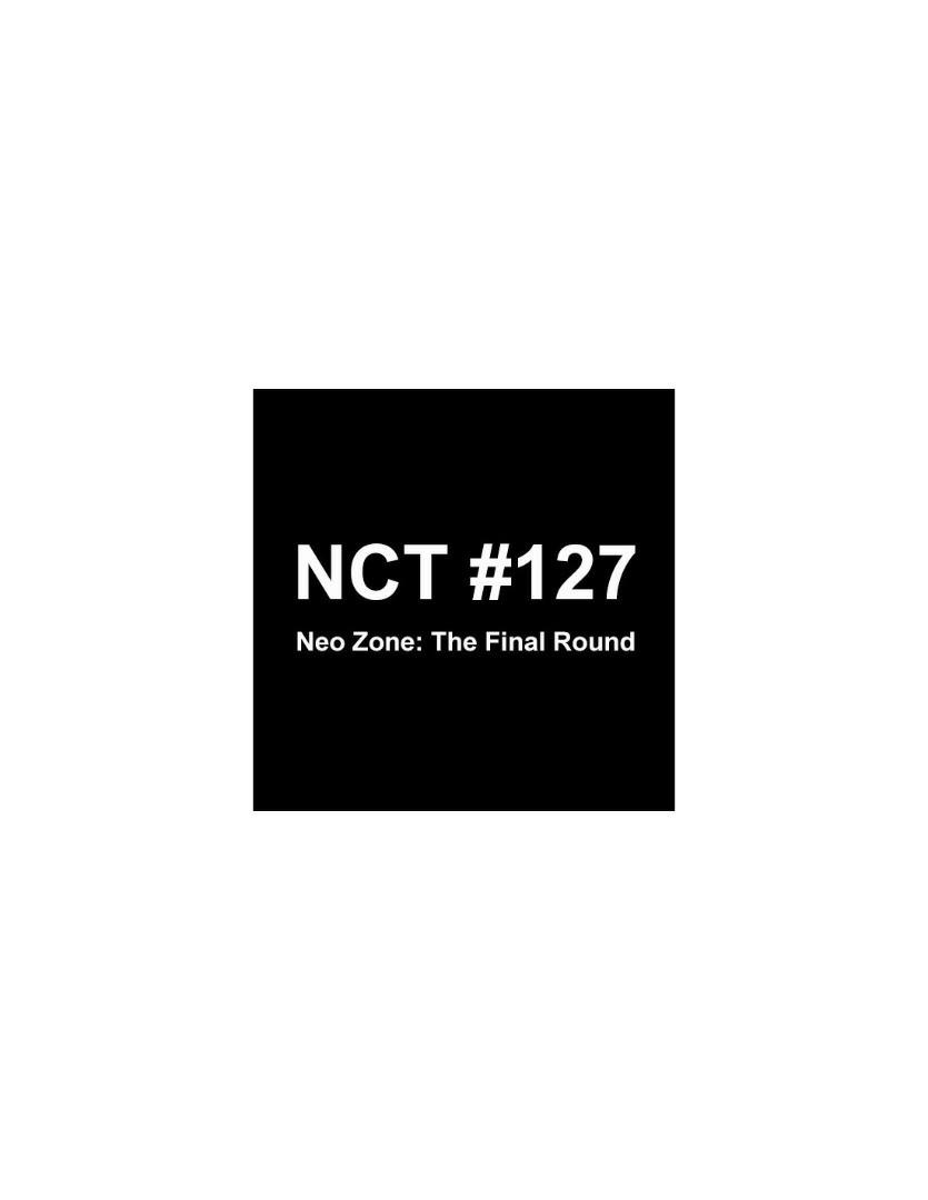 NCT 127 2nd Repackage Album - NCT No127 Neo Zone : The Final Round (Random Ver.)