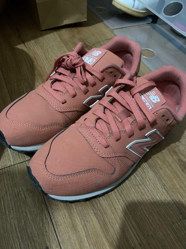New Balance 373 Salmon Pink, Women's Fashion, Footwear, Sneakers ...