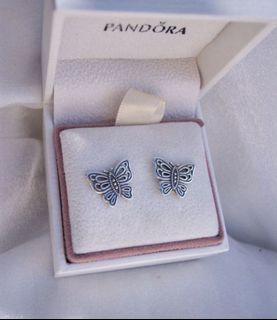 Pandora Butterfly Earring