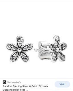 Pandora daisy earring