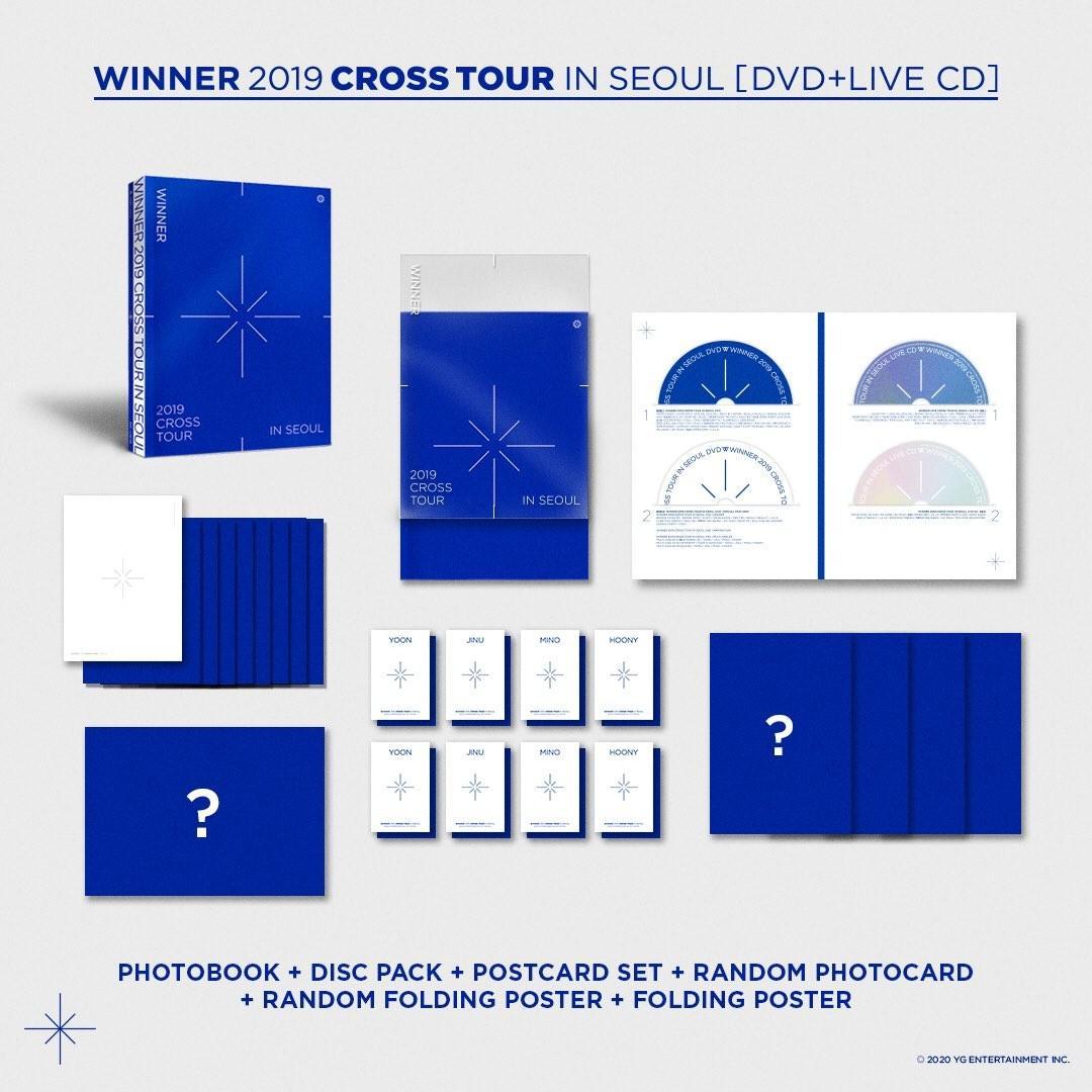 🇲🇾[PREORDER GO] #WINNER's 2019 CROSS TOUR IN SEOUL DVD+CD
