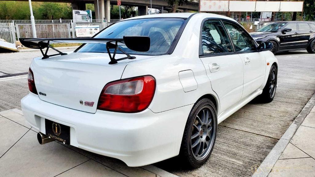 Subaru Impreza WRX STI S202 Manual
