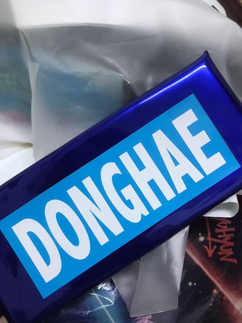 Super Junior SJ School Fan Meeting in Japan 2019 Official Merchandise Donghae Pencil case