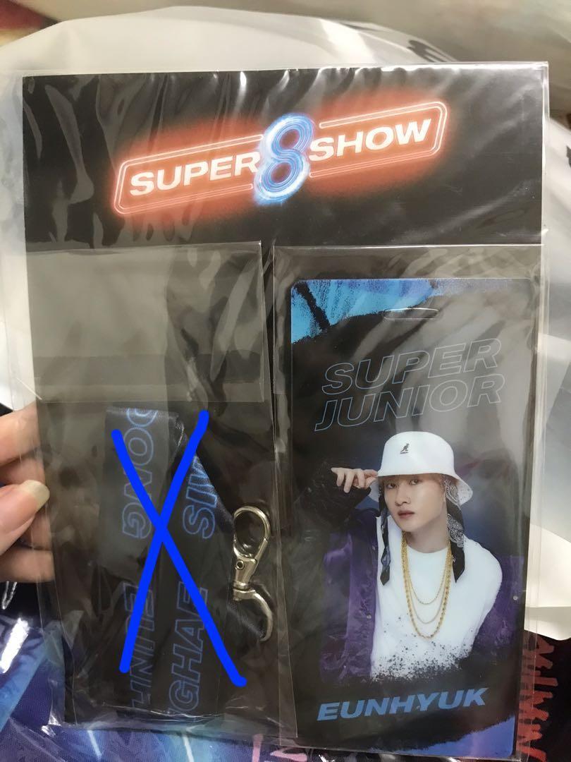 Super Junior Super Show 8 Official Merchandise Eunhyuk Lanyard