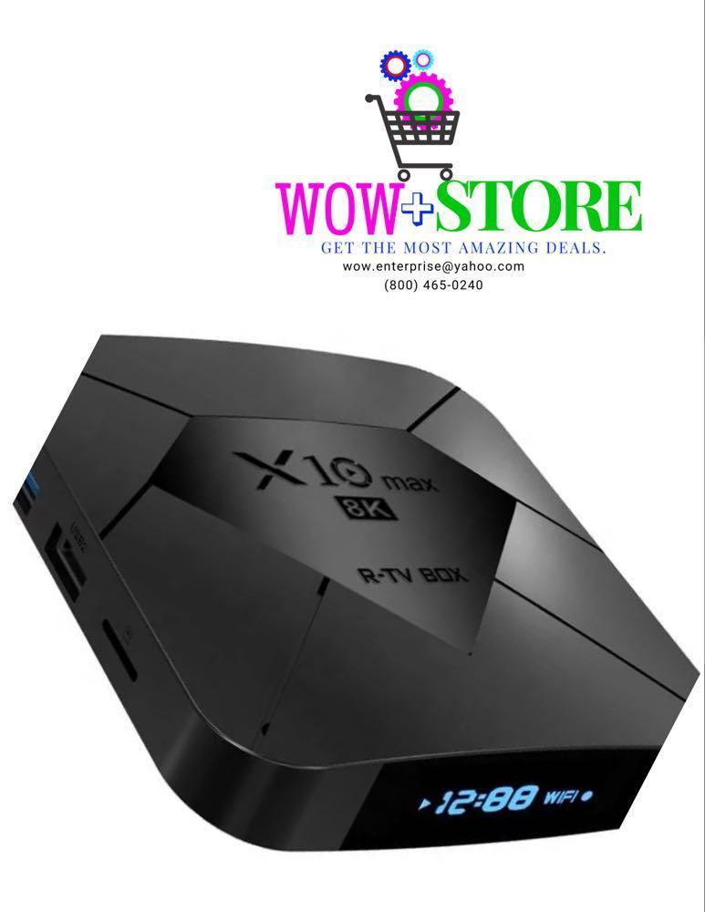 X10 Max 8K Android Tv box