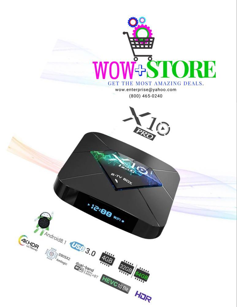X10 pro 4k HDR Android Tv Box