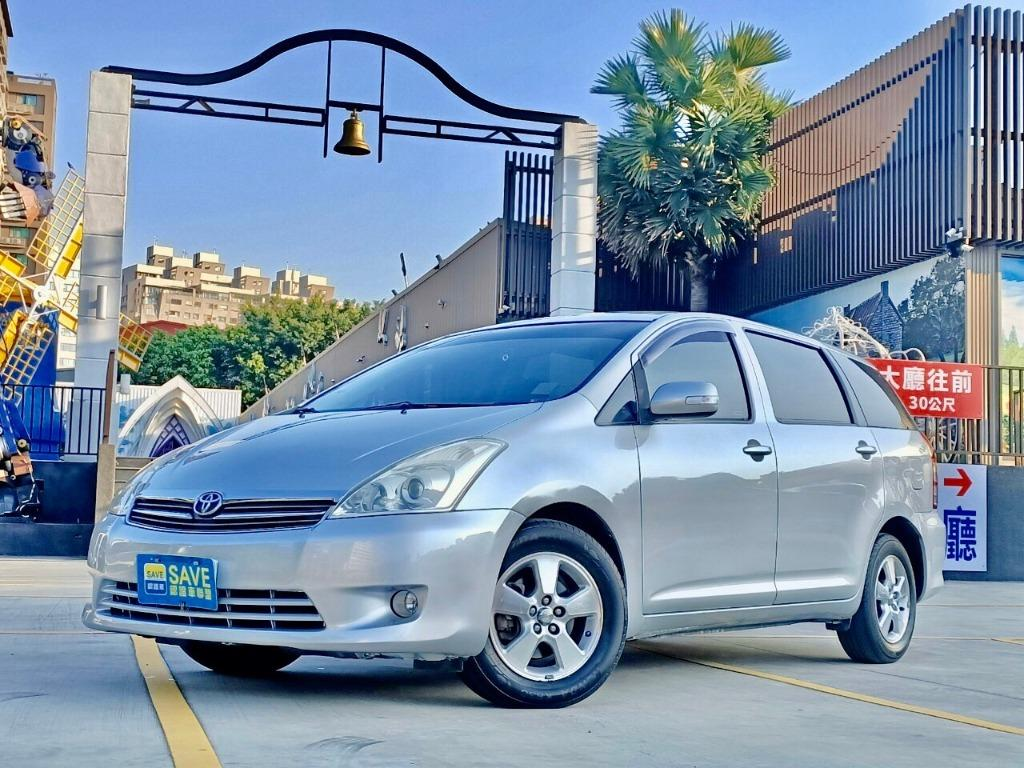 ➡️2009 Toyota wish 自手排2.0L ✨優惠特價中 一手女用車 僅跑15萬 認證車可享一年保固✨