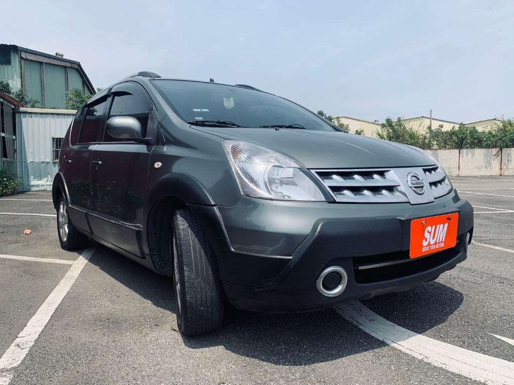 正2012年 頂級小改款 Nissan Livina 1.6 五人座頂級款