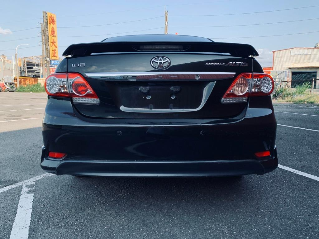 正2012年 運動版小改款七速Toyota Altis 1.8E版 超省油7速手自排