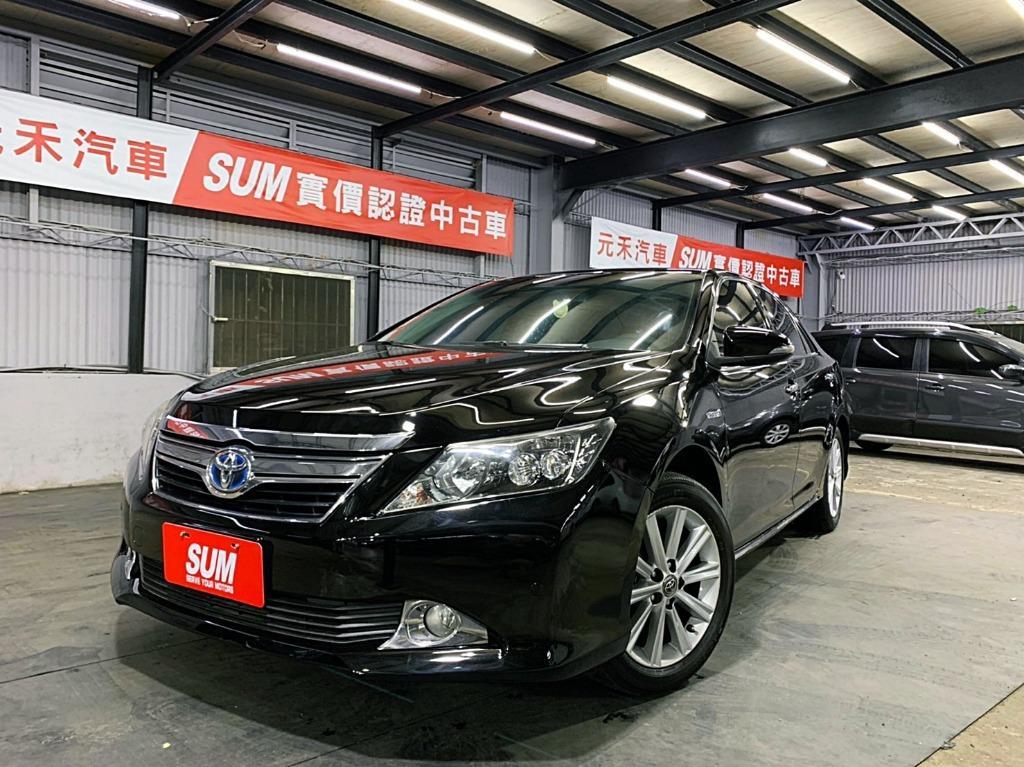正2012年 新款Toyota Camry Hybrid 2.5G油電車 新車價110萬