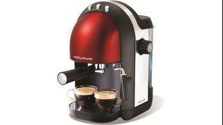 [50% OFF] [MAKE COFFEE HOME] Morphy Richards Espresso Coffee Machine