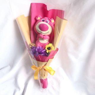 抱哥玩具總動員畢業娃娃玩偶花束畢業禮物