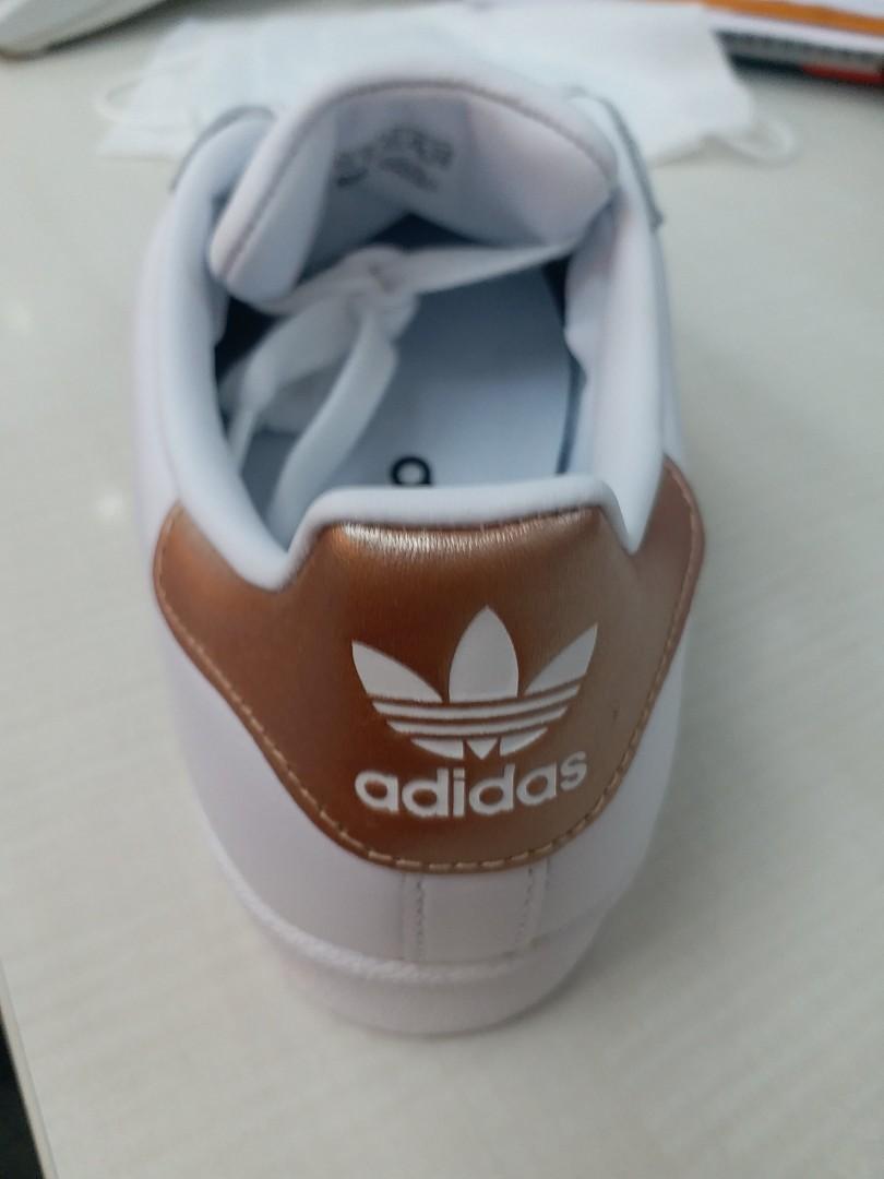 Adidas super star W 波鞋40碼全新, 女裝