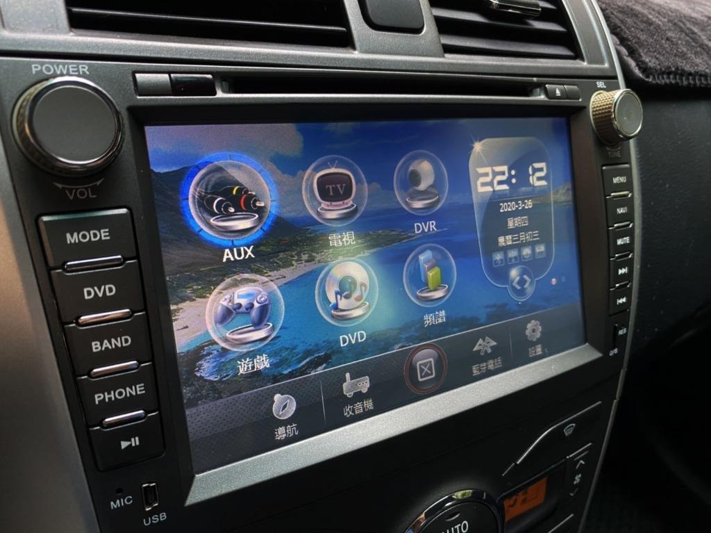 ALTIS 2.0 Z版 一手車 全車原钣件 頂級配備 IKEY 換檔快撥 HID ECO 2012