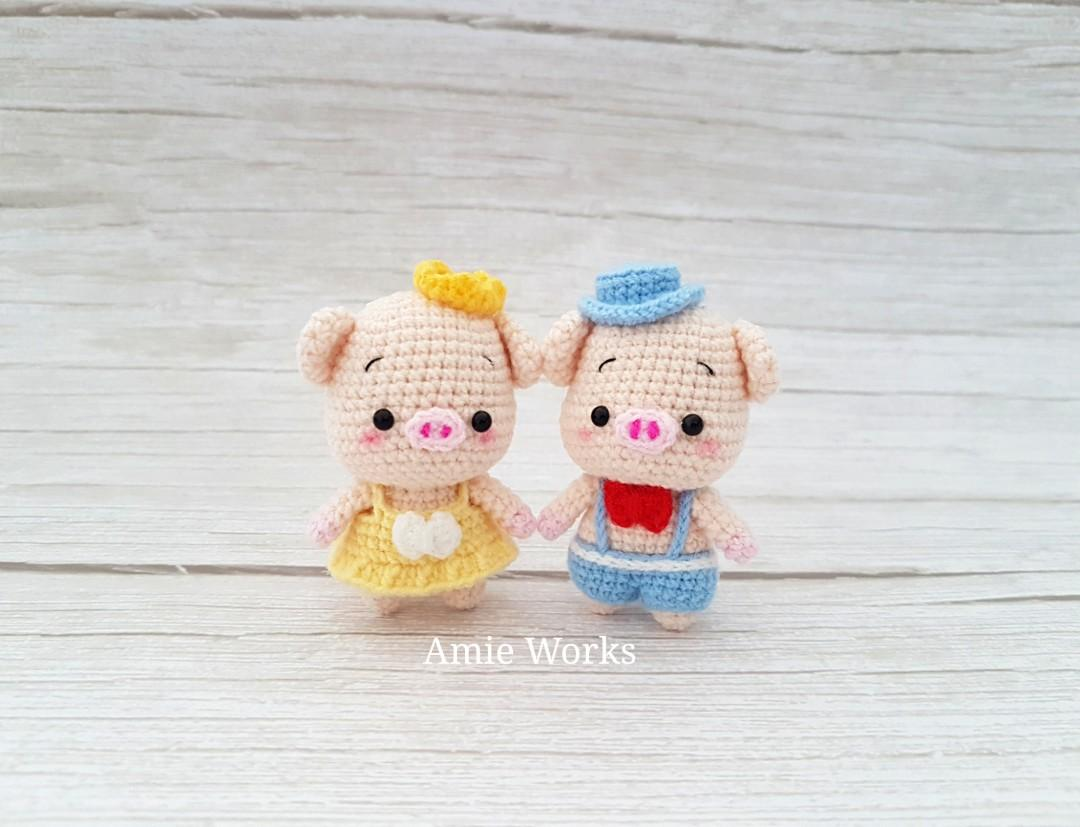 The Three Little Pigs amigurumi pattern - Amigurumipatterns.net | 827x1080