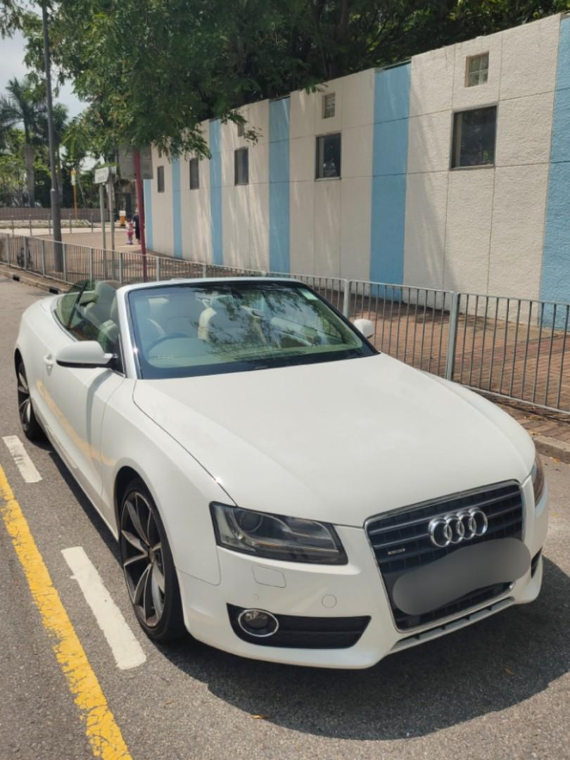 Audi A5 Cabriolet 2.0 TFSI S tronic (A)