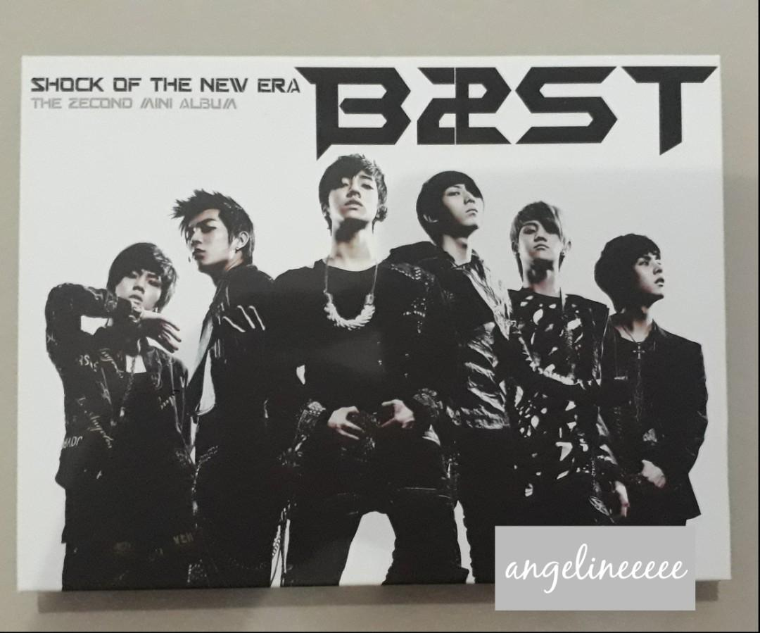 BEAST (B2ST) - Shock of the New Era PRELOVED ALBUM