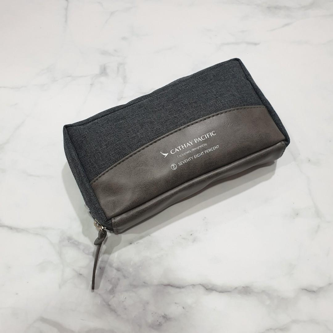Cathay Pacific x Seventy Eight Percent Business Class Amenity Kit + Pouch Full
