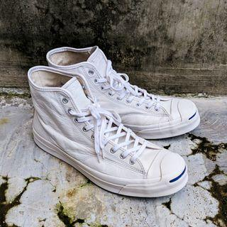 Converse Jack Purcell Signature Hi Top Leather