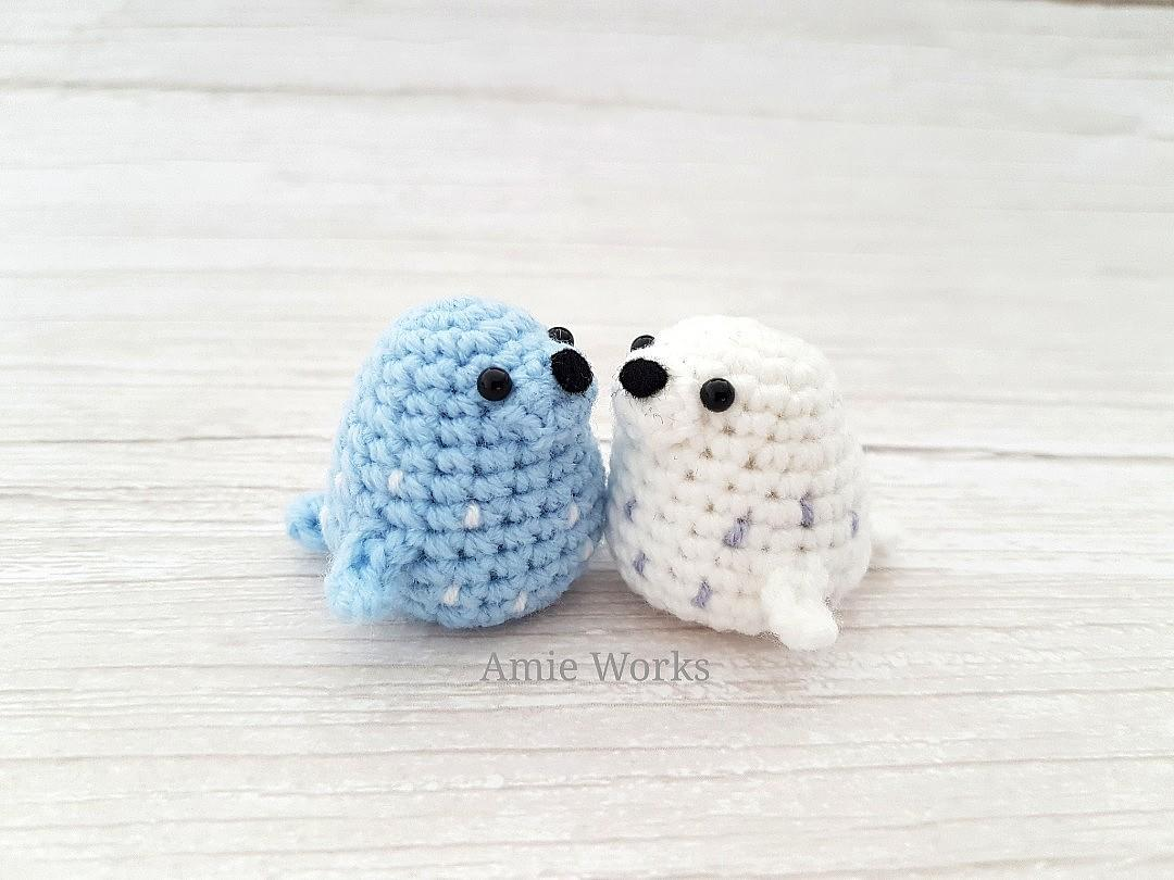 Amigurumi seal - Free crochet pattern in ENG,NO,DE | 810x1080