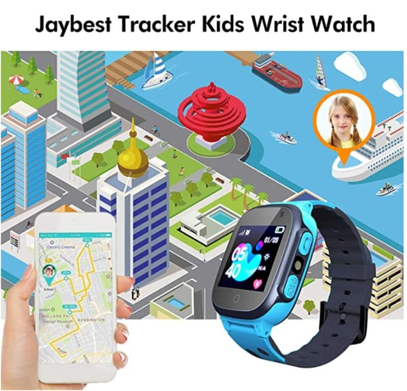 DISPLAY SET Kids Smart Watch Phone with SOS , Camera, 1.44 HD Screen ,Games for 3-12 Year Old Boys Girls Great Gift