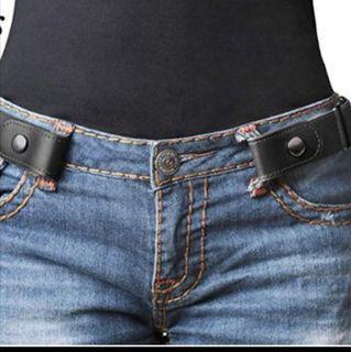 Elastic Korea belt no buckle