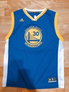 (含運) Adidas Golden State Warriors Youth Jersey 金州勇士客場球衣 青年版XL