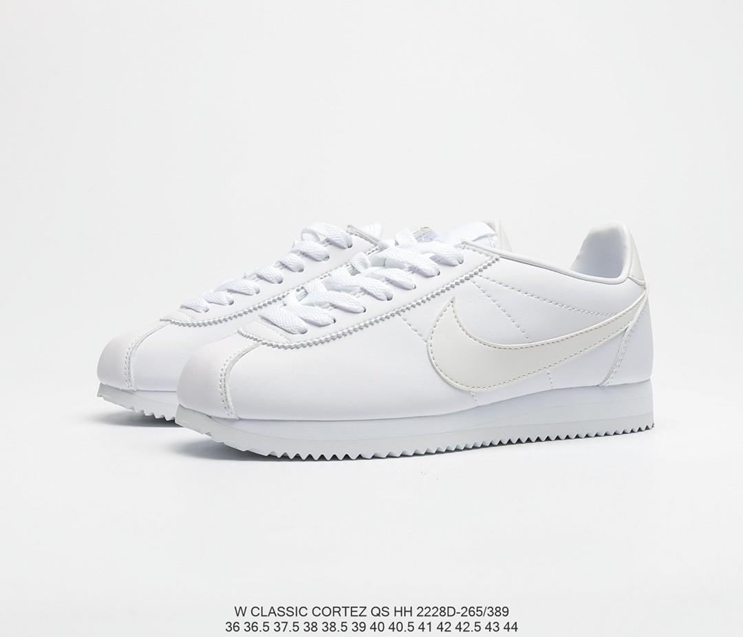 Nike Cortez - Triple White, Women's