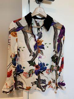 Reiss Floral shirt