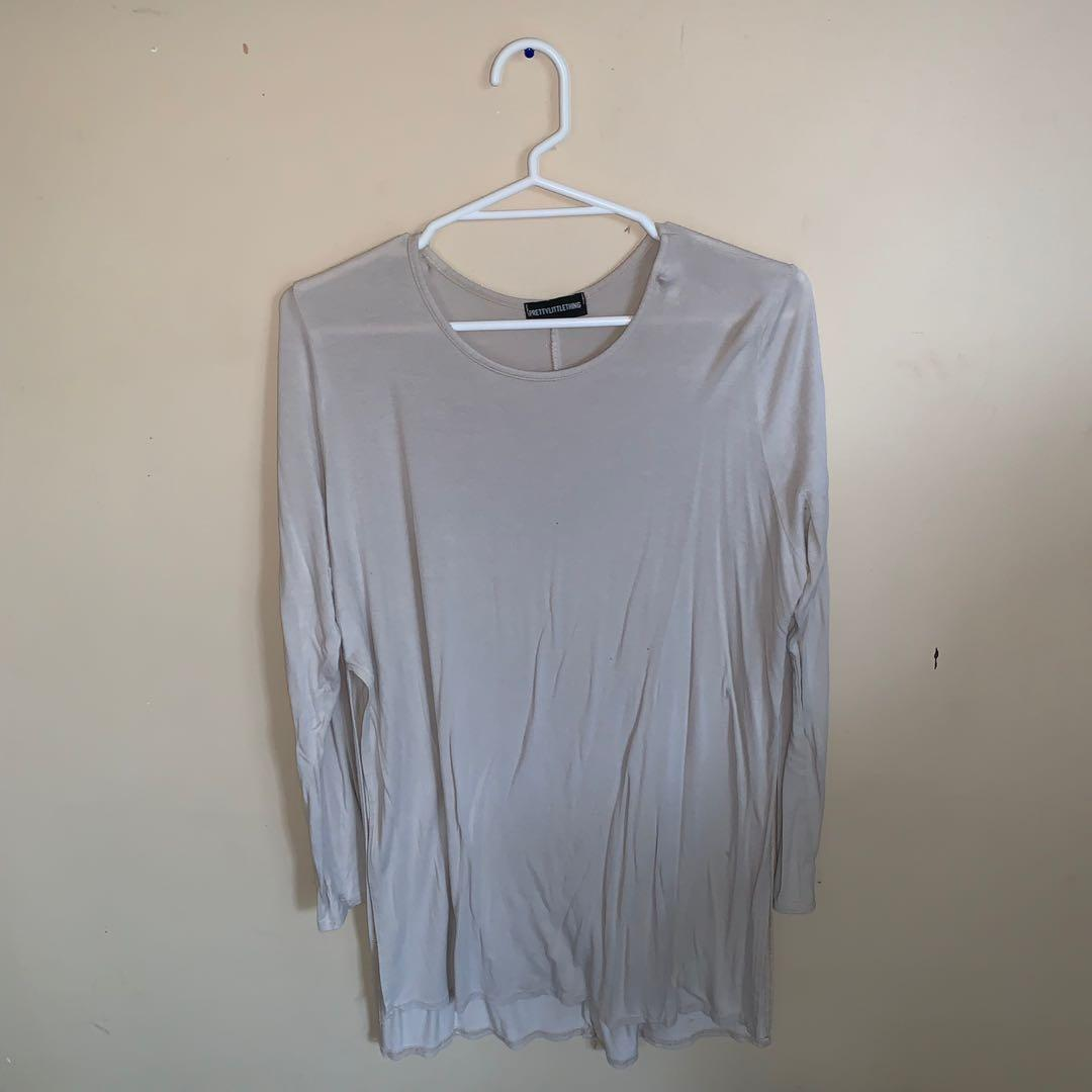 Size 12 high side split top