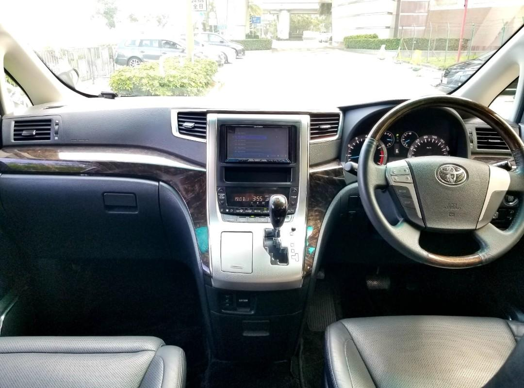 Toyota 2013 Toyota  alphard facelift 2013 Toyota  alphard facelift Auto