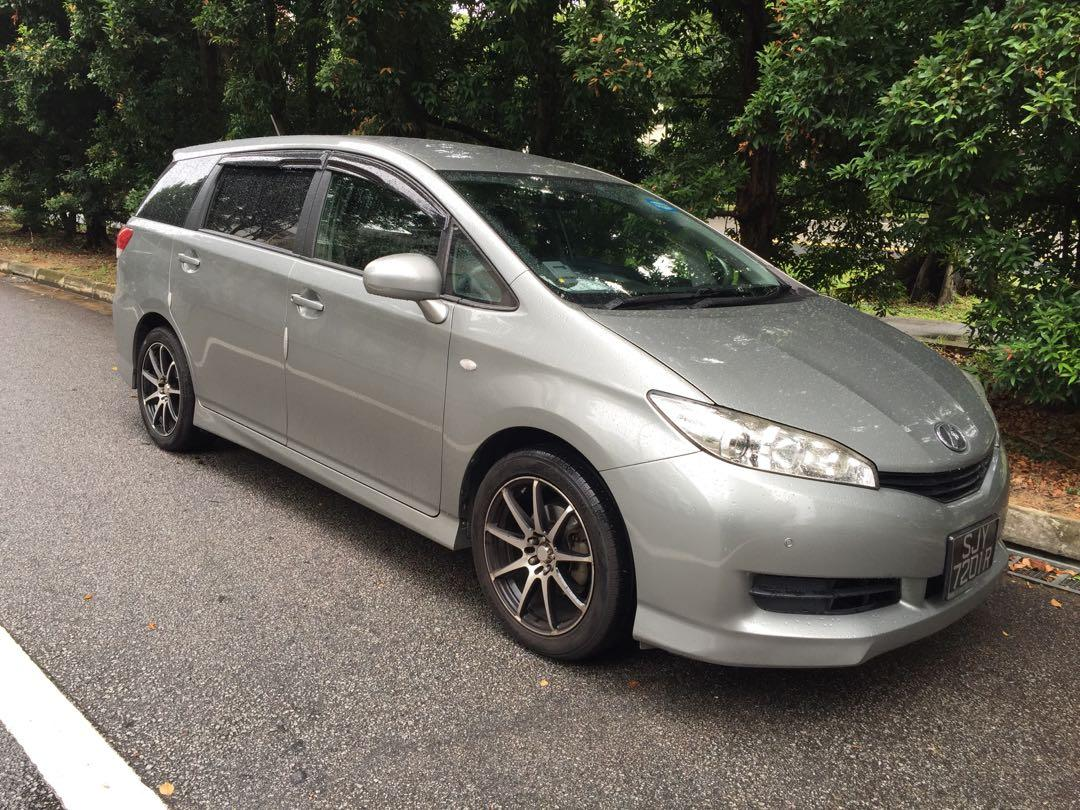 Toyota Wish 1.8 MPV For Go Jek & Grab Rental & Grabfood, Food Panda $350/Wk
