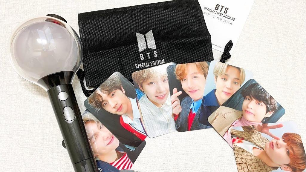 (WTS) (LOOSE) BTS MAP OF THE SOUL SPECIAL EDITION LIGHTSTICK PHOTOCARDS