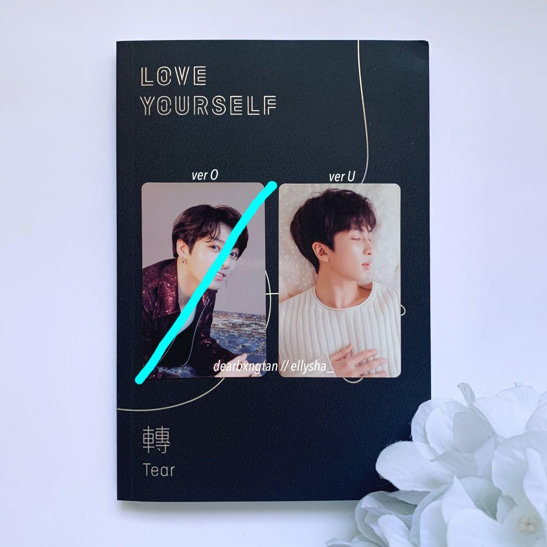 [WTT] BTS LOVE YOURSELF TEAR OFFICIAL PHOTOCARD: JUNGKOOK & RM FOR SUGA