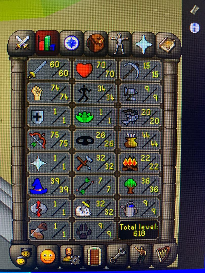 1 Prayer Fire Cape 1 Def Pure Osrs Account Toys Games Video Gaming Video Games On Carousell The quest point cape can be obtained by players who have completed all quests (excluding miniquests). carousell
