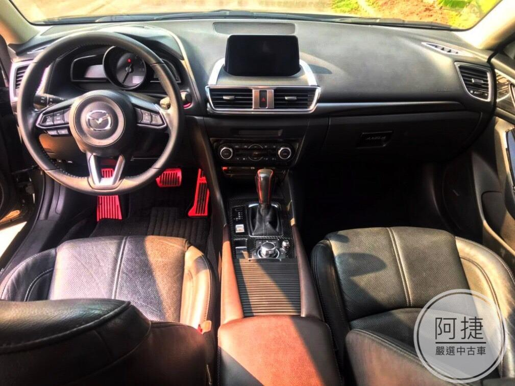 2017 Mazda3 5D 沒薪轉沒勞保 信用瑕疵 皆可辦理 100%強力過件