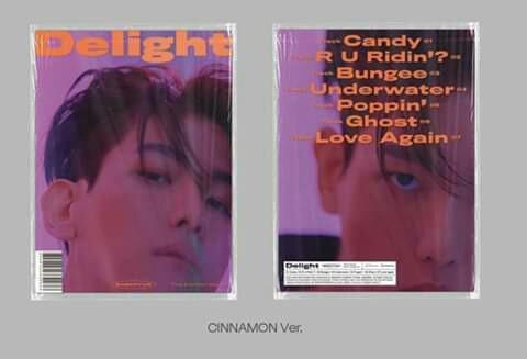 BAEK HYUN - Mini Album Vol.2 [Delight] (can choose version)